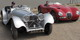 Classic reproductions of the Jaguar SS100 & C-type